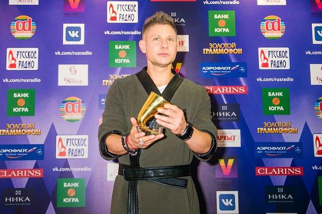 Митя Фомин получил свой третий «Золотой Граммофон»