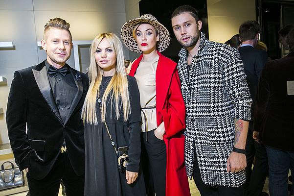 Митя Фомин на Открытии нового бутика Giorgio Armani в Москве