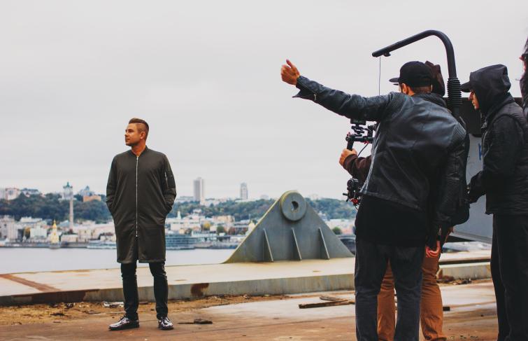 Бэкстейдж съемок клипа «Чужие сны»