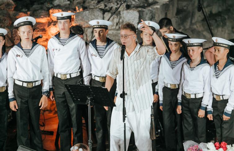 Концерт под открытым небом в «Херсонесе» / Севастополь